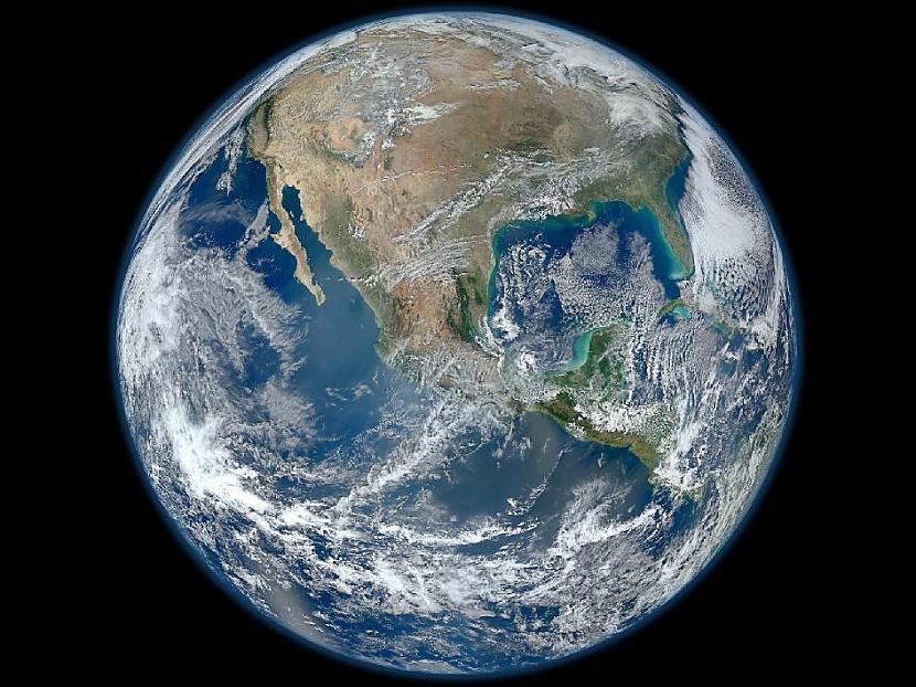 NASA jau bija laidusi klajāi... Autors: Moonwalker Episkās Zemes bildes no kosmosa