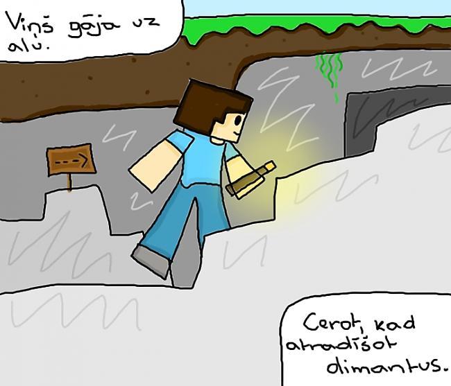 Autors: ChibiChibi ''Herobrine'' Minecraft Leģenda.