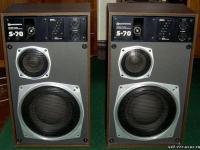 Radiotehnika S-70 (35АС-013) - это звуковые колонки со встроенным оконечным усилителем, аналогичному оконечному...