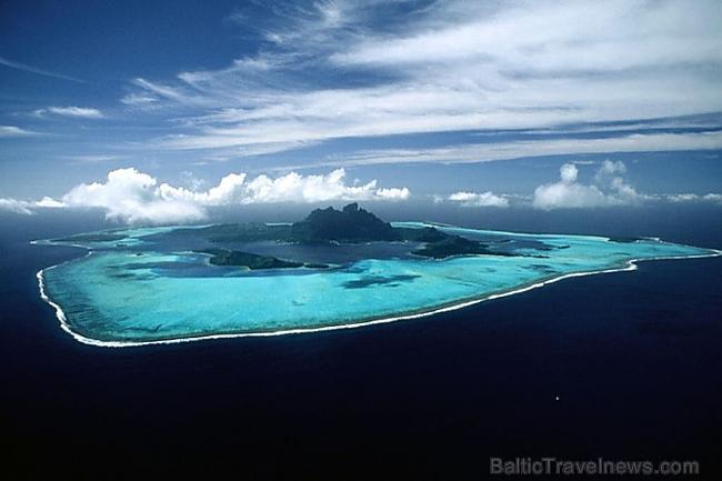 Bora Bora sala tiek uzskatīta... Autors: APJUNSENO Elpu aizraujoši dabas skati
