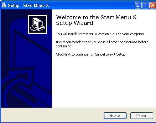 Divas reiz uzklikscaronķini uz... Autors: Fosilija Start menu-x jauns softs priekš xp