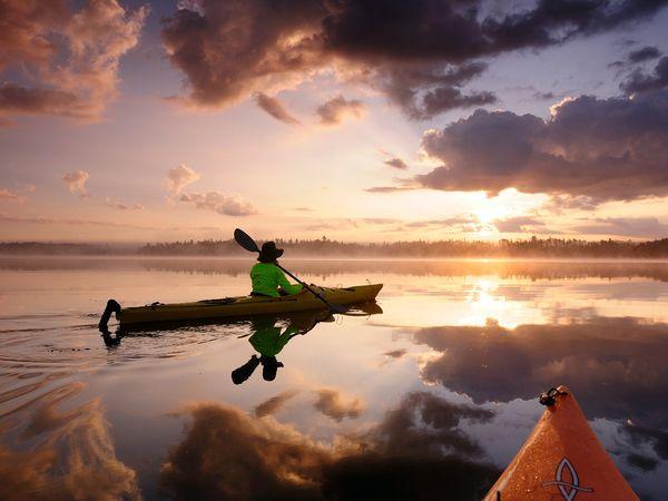 Rīta brauciens ar Kanoe laivām... Autors: Fosilija 10 Interesantas tūrisma vietas !!!