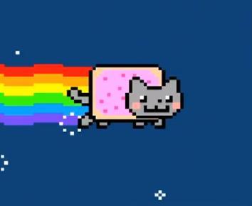 Pati mūzika Itkā nekas... Autors: hariits Kaitinoši - Nyan cat ...