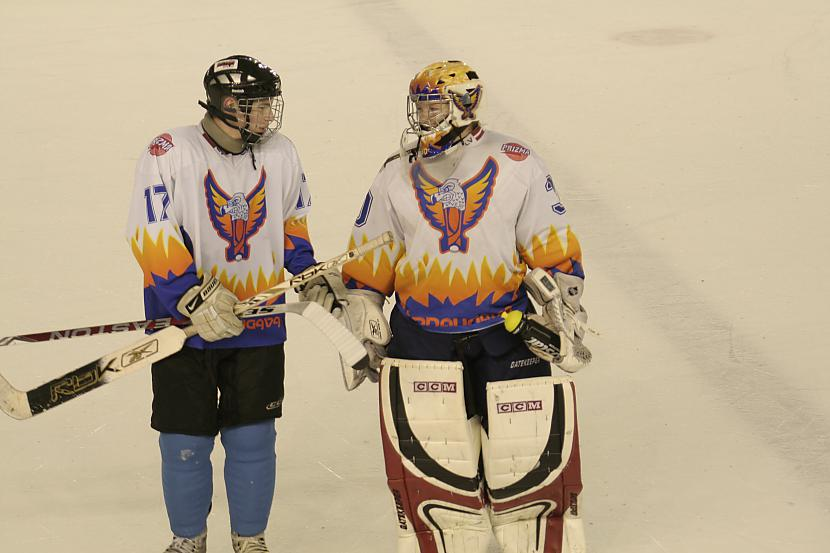 Kirils Mitrofanovs un Matīss... Autors: Hokeja Blogs Bauer Selects Latvia White 1996
