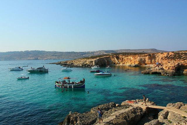 Komino Malta Komino ir Gozo... Autors: Treiseris 15 labākās Eiropas salas