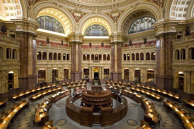 Kongresa bibliotēka... Autors: wilkatis 15 skaistākās pasaules bibliotēkas