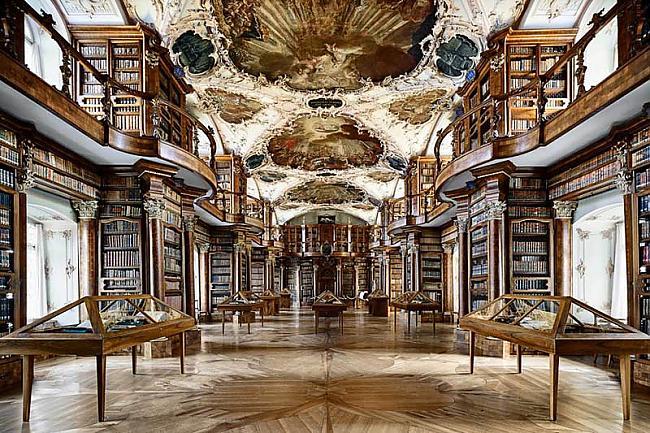 Svētā Galla klostera... Autors: wilkatis 15 skaistākās pasaules bibliotēkas