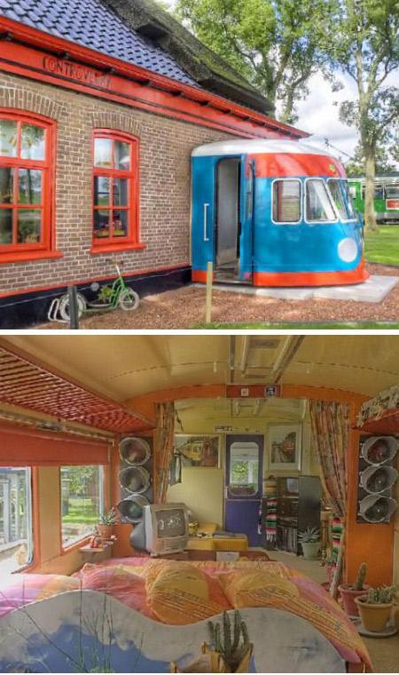 Dzelzceļa vagoni Autors: mockingjay12 10 hoteļi, kuri ir taisīti no dīvainām lietām!