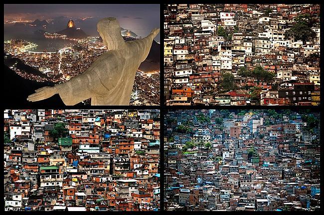 Rocinha ndash Riodežaneiro... Autors: Treiseris 10 vietas, kur Tu negribētu dzīvot