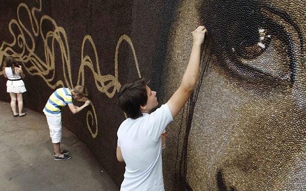 Autors: Fosilija Pasaulē lielākā kafijas pupiņu siena