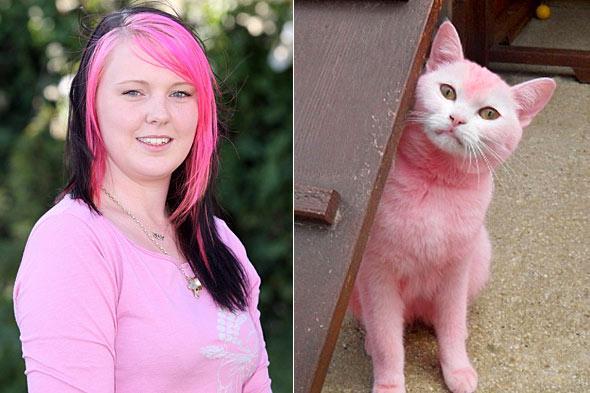 Meitene vārdā Natascarona... Autors: kakjiite412 3  dažāda vecuma meitenes, kas mīl tikai rozā krāsu.3