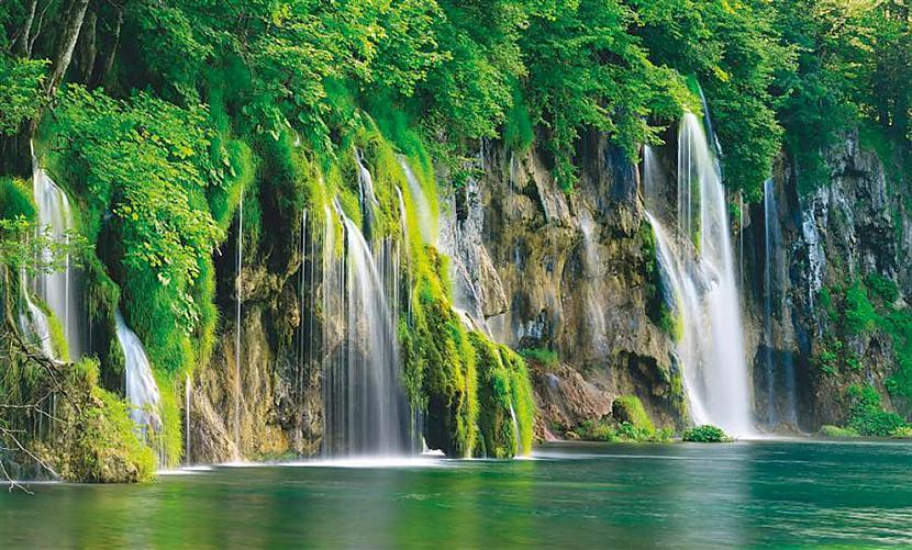 Pļitvicas ezeri Paradīze Pati... Autors: sabaa310 10 no skaistākajām vietām uz zemes