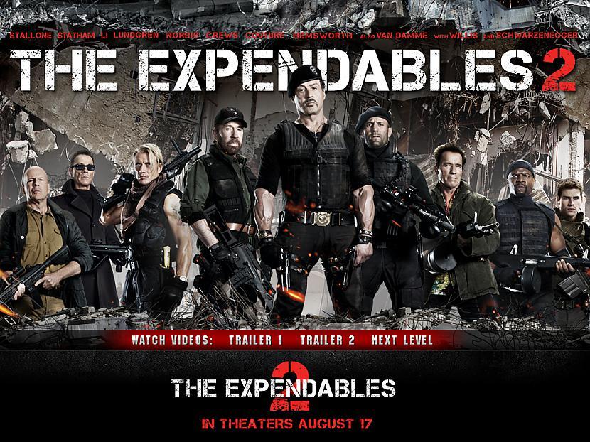 Filmā The Expendables viņam... Autors: Enderman Ārnijs atgriežas