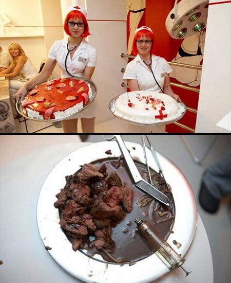 Hospital RestaurantRestorāns... Autors: Fosilija 10 Interesantākie restorāni Pasaulē =)