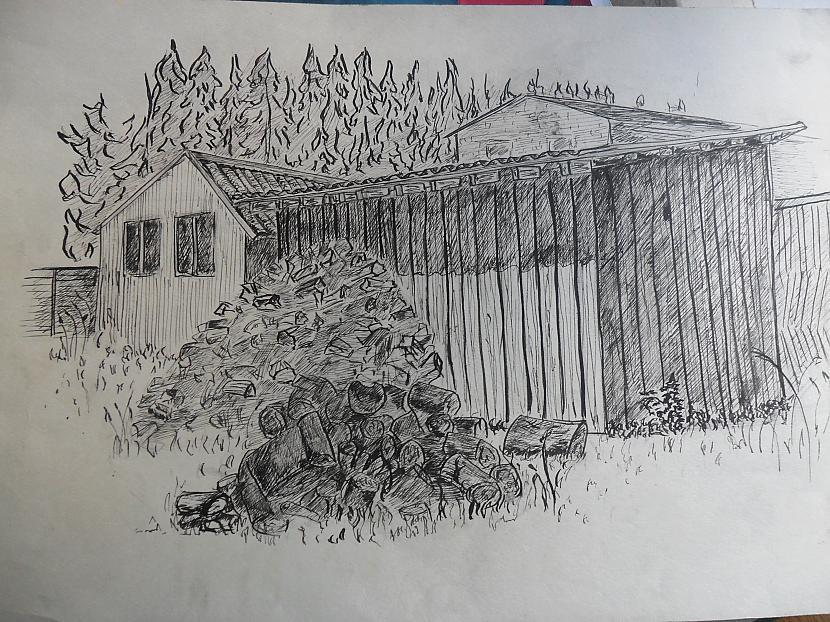 A3 3h zīmēts ar tinti Autors: krisny Mani 2