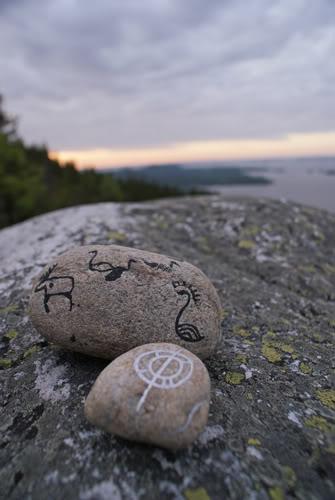 Vairākums aculiecinieku stāsta... Autors: kitijaaa13 Oņegas ezera dīvainā sala