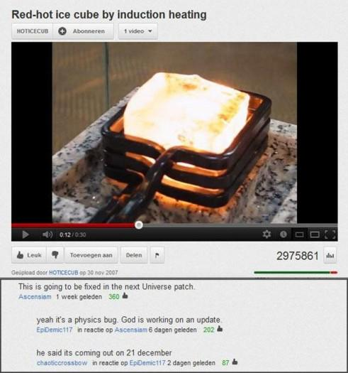 Autors: Pizhix Best youtube comments.