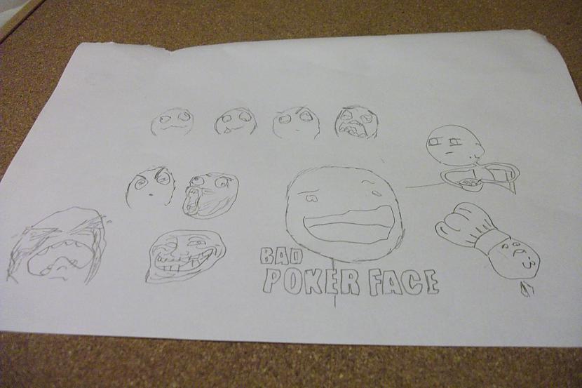 faces Autors: persis2000 Mani zīmējumi daži...