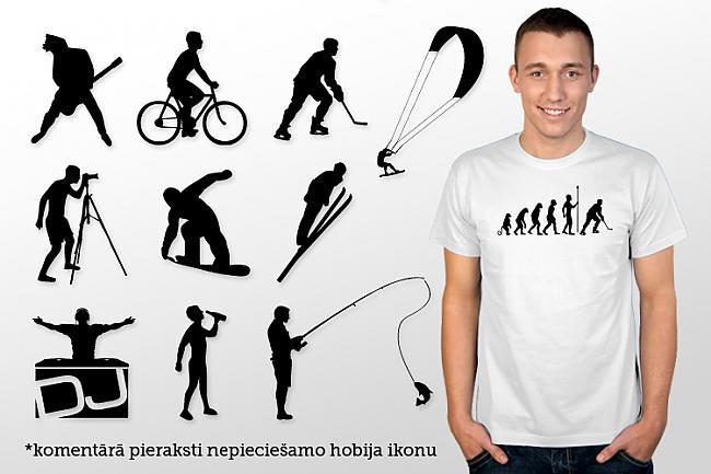 Sportista evolūcija Cena Ls... Autors: Spoki Asprātīgi un smieklīgi krekli