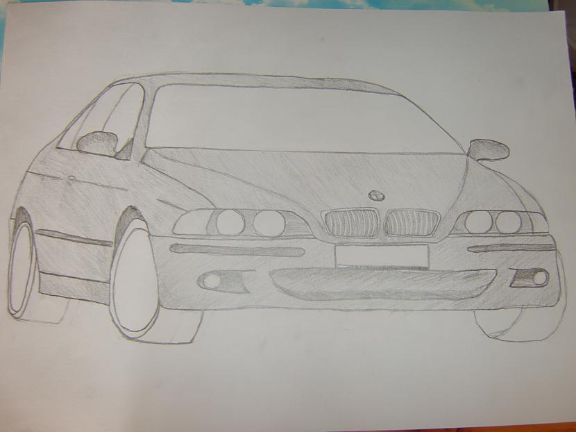 BMW E39Scaronis ir vecs un... Autors: LinardsK Pazīmēju!