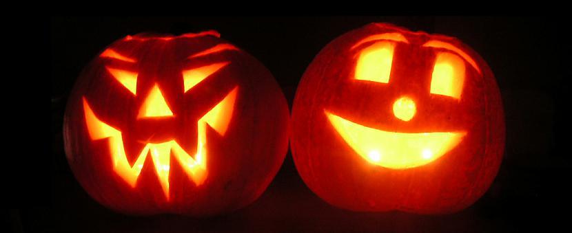 Jack O LanternsNo laika gala... Autors: Kinkažu Helovīna simboli un to nozīme