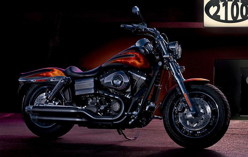 Dyna Fat Bob Autors: Fosilija Harley - Davidson, 2009