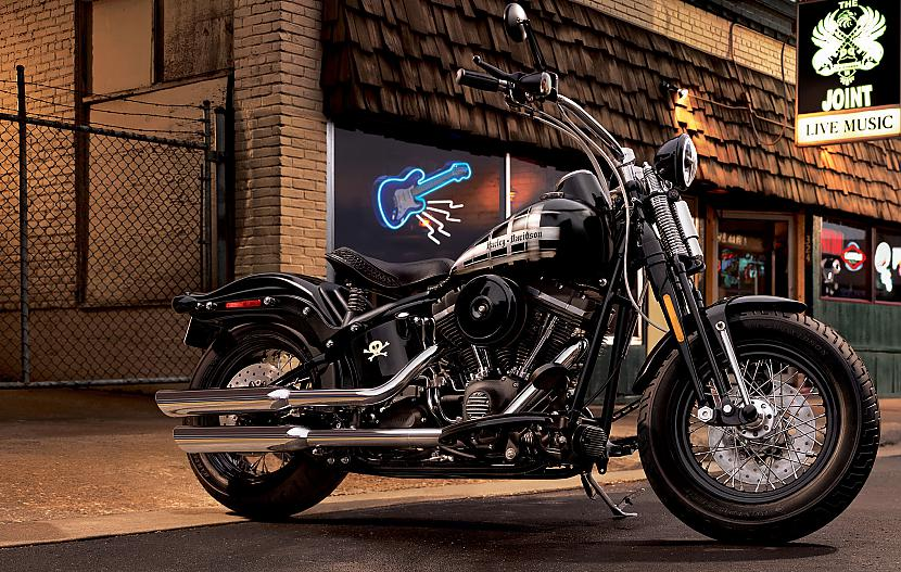 Softail Cross Bones Autors: Fosilija Harley - Davidson, 2009