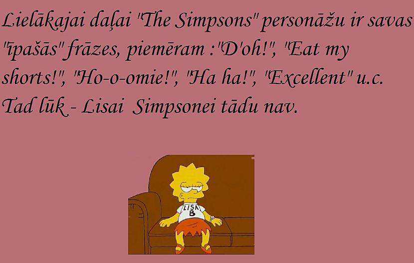 Autors: Fosilija Fakti par Simpsoniem 3