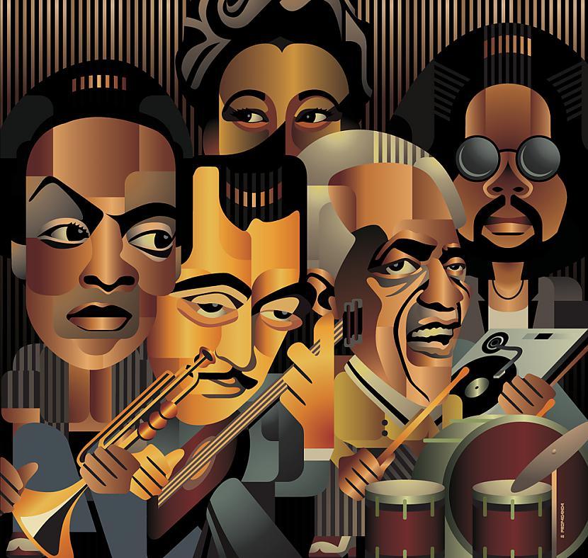 Agrīnie Ņūorleānas stila džeza... Autors: BlenderisLV Jazz