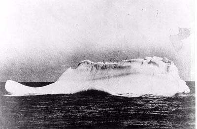 Reta oriģināla fotogrāfija... Autors: BrĀLis scorpion1 Aisbergs, ar ko sadūrās Titāniks!