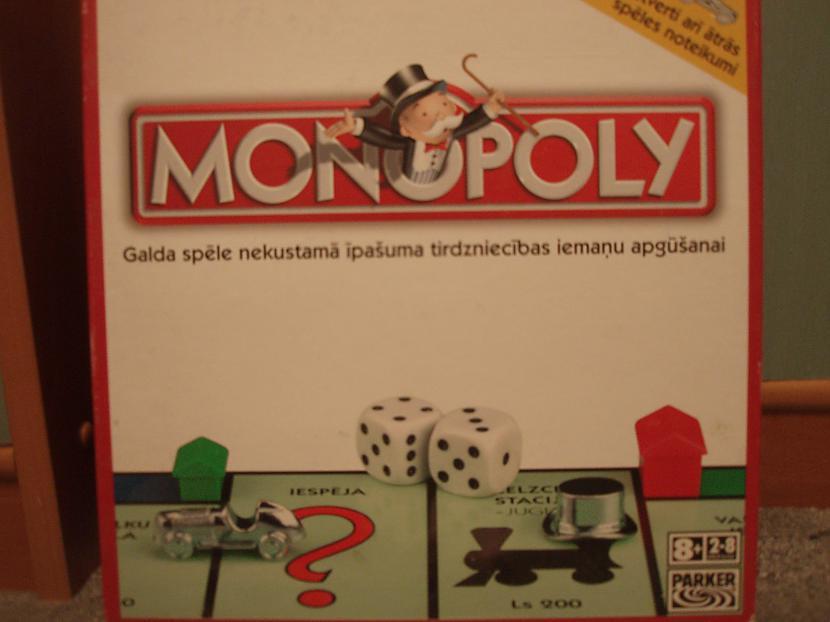 Monopolsnbsp ļoti laba galda... Autors: nikrider Populārākās galda spēles