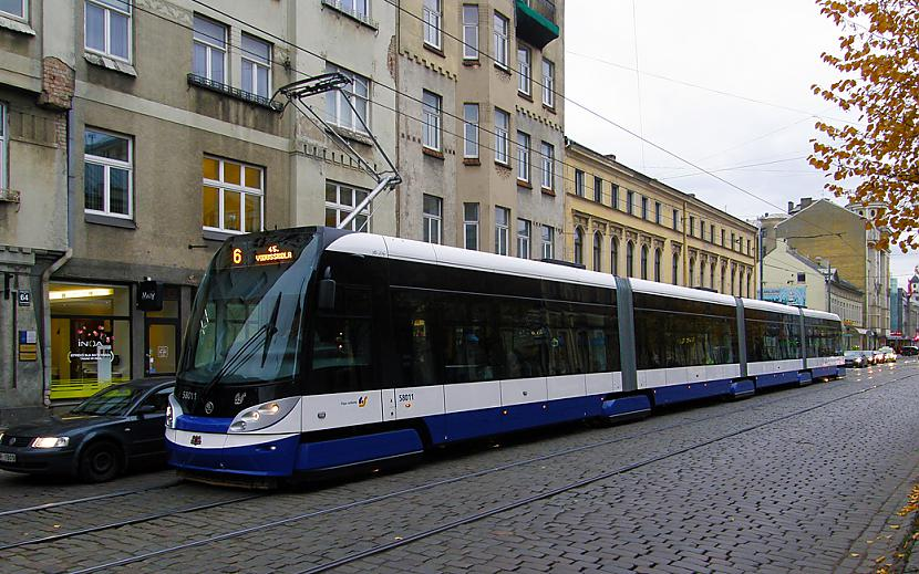 6marscaronrutā Autors: Fosilija Tramvaji Rīgā.
