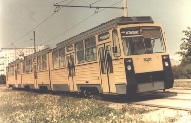 Un Rīgā bijis arī tramvajs TR2... Autors: Fosilija Tramvaji Rīgā.