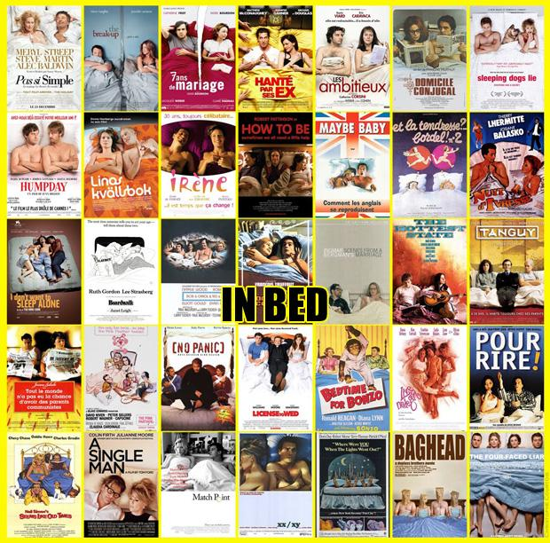 Filmas galvenie varoņi gultā... Autors: zlovegood Kā uztaisīt labu filmas plakātu?