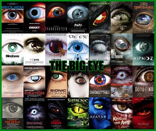 Lielā acs galvenokārt... Autors: zlovegood Kā uztaisīt labu filmas plakātu?