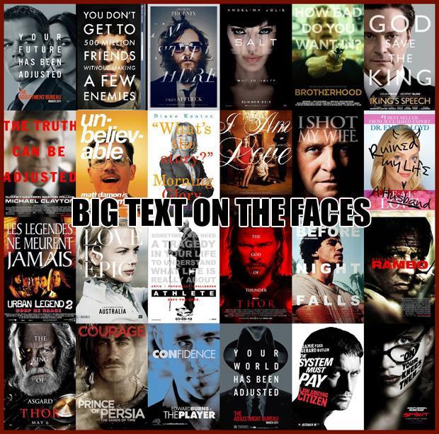 Lieli burti uz sejas Jo... Autors: zlovegood Kā uztaisīt labu filmas plakātu?
