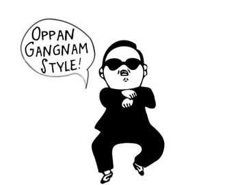 Titulbilde Autors: burmeseCAT Gangnam style gifi