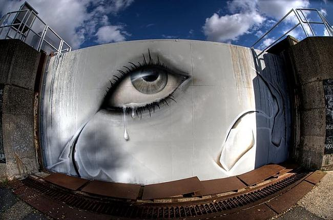 Visā savā pastāvēscaronanas... Autors: Moonwalker 700 gadus vecs grafiti ciems