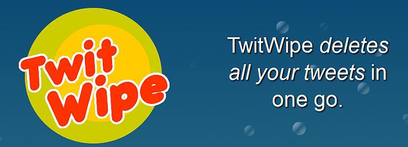 TwitWipe Rīt ir darba... Autors: yinyangyo123yyy Twitter programmas