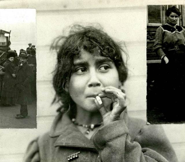 Meitene čigānu nometnē netālu... Autors: anney Čigāni Eiropā