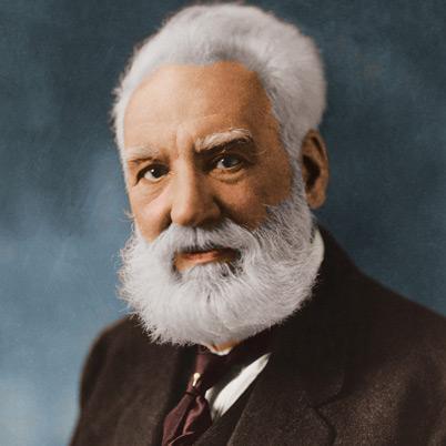 Alexander Graham Bell parastā... Autors: varenskrauklis Fakti, kuri liek pasmaidīt, bet ir patiesi!