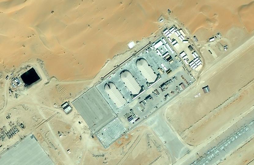 Scaronajā bildē vienkārscaroni... Autors: varenskrauklis Slepena ASV militārā bāze?