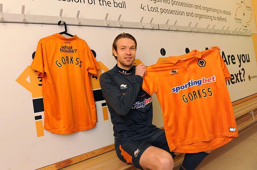 Kaspars Gorkscarons FC Reading... Autors: Fosilija Gorkšs tiek izīrēts Wolverhampton Wanderers