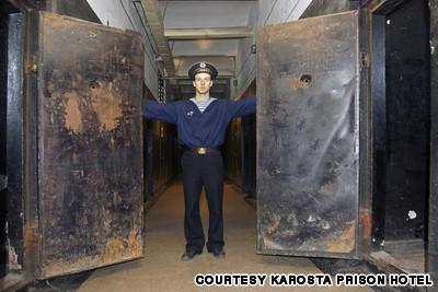 2Karostas cietums... Autors: R1DZ1N1EKS Viesnīcas, kurās uz romantiku prāts nenesas.