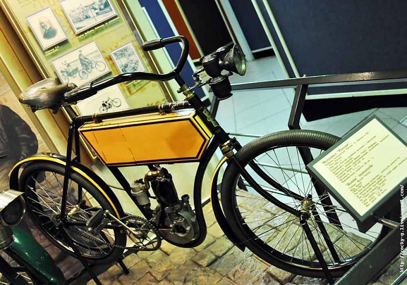 Motocikls quotRussiaquot Ja... Autors: Mahitoo Latvijas velosipēdu un automobiļu rūpnīca