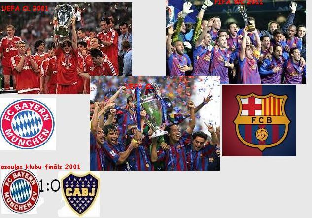 Divas veiksmīgas komandas aiz... Autors: Vēlamais niks Veiksmīgākās komandas (Eiropas) futbola vēsturē