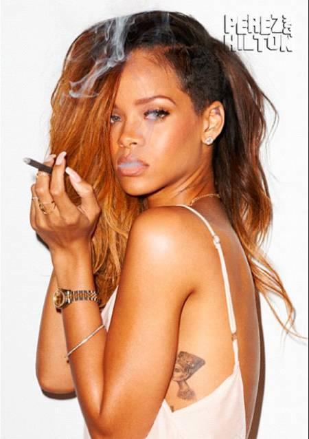 Rihanna Īstajā vārdā Robija... Autors: esbutlatvietis Slavenību īstie, pilnie vārdi