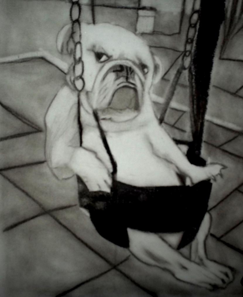 Buldogs scaronūpolēs Autors: Edgarsnr1 Oriģināli zīmējumi