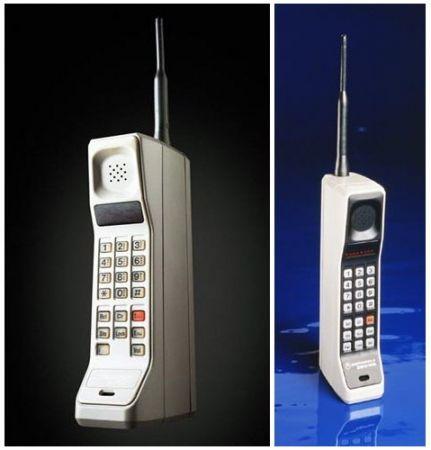 Motorola DynaTAC 8000X AMPS... Autors: Kaajinsh Mobilajam telefonam 40. dzimšanas diena!