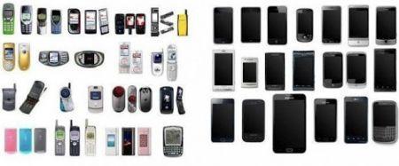 Telefoni agrāk telefoni... Autors: Kaajinsh Mobilajam telefonam 40. dzimšanas diena!